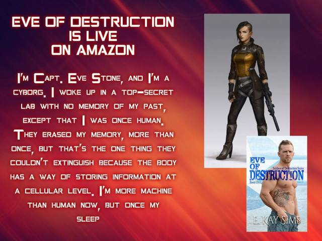 E kay Eve of Destruction blurb