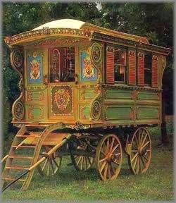 Gypsy+caravan+pistacio+green