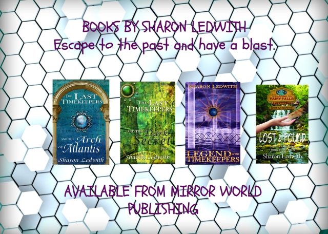 BOOKS BY SHARON LEDWITH.jpg