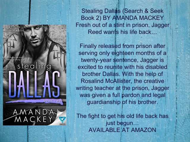 STEALING DALLAS BLURB